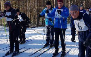 Hiihto-ottelu TV - ÅTF 2019, lähtötapahtunut