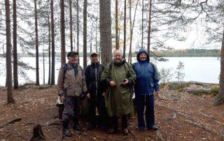 Ryhmä Savojärvellä